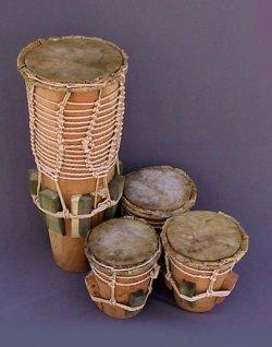 Барабаны абакуа - бианкомеко