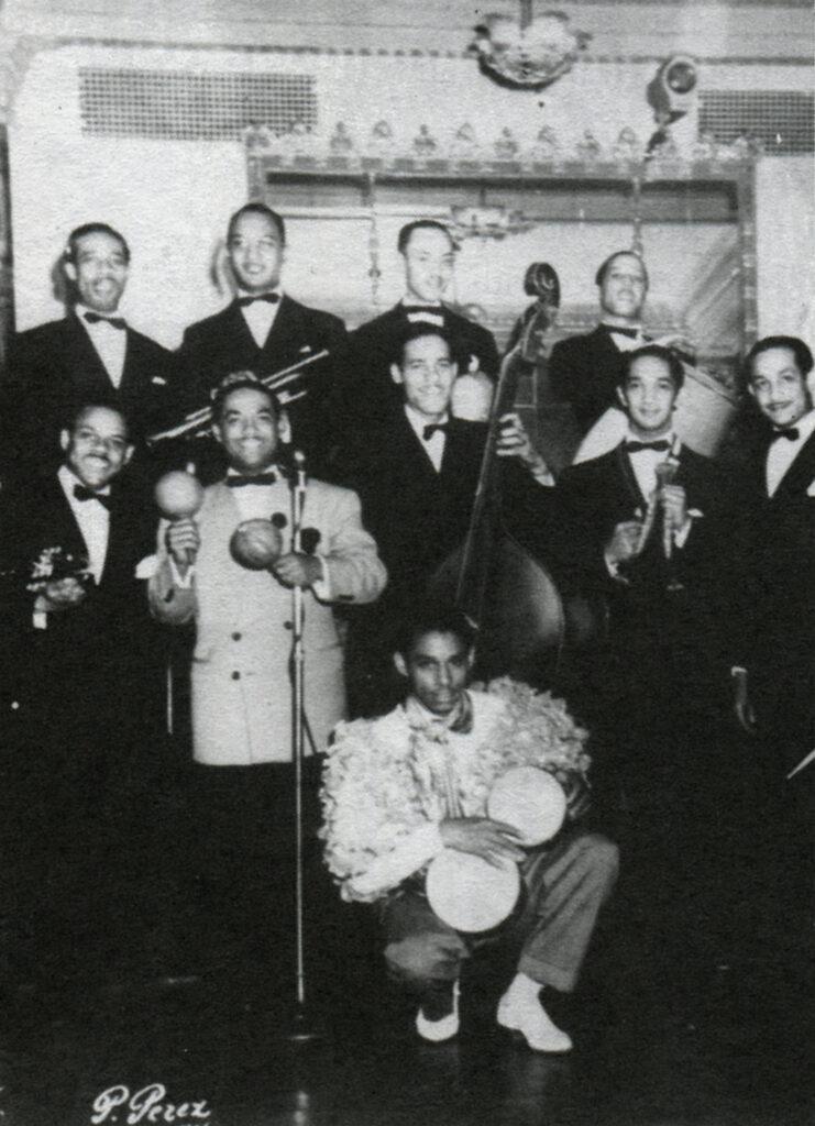 Мачито и его афрокубинцы, 1941. Коллекция Макса Саласара и архива Мачито