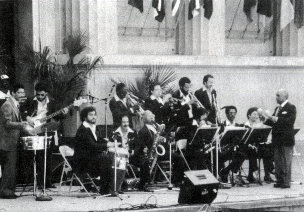 Оркестр Мачито, Джазовый фестивль в Беркли, 1982. Из коллекции автора.