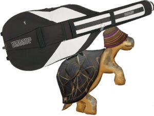 черепаха с контрабасом