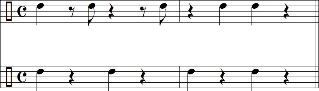 Румба клаве и пульсация