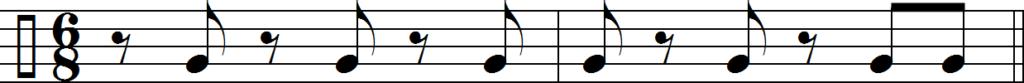 Клаве 6/8 в направлении 2-3