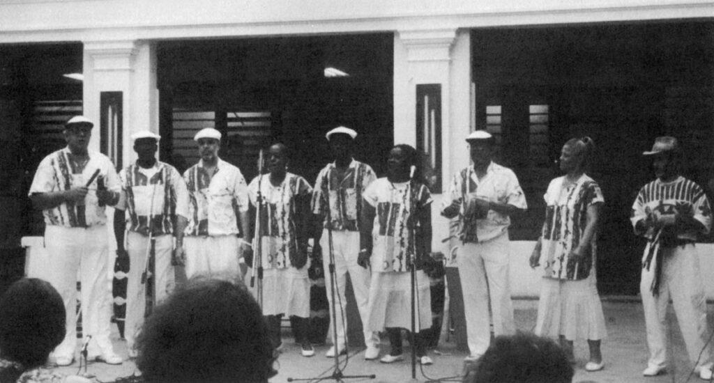 Conjunto de Clave y Guaguancó, Гавана, 1992. ©Ребека Маулеон