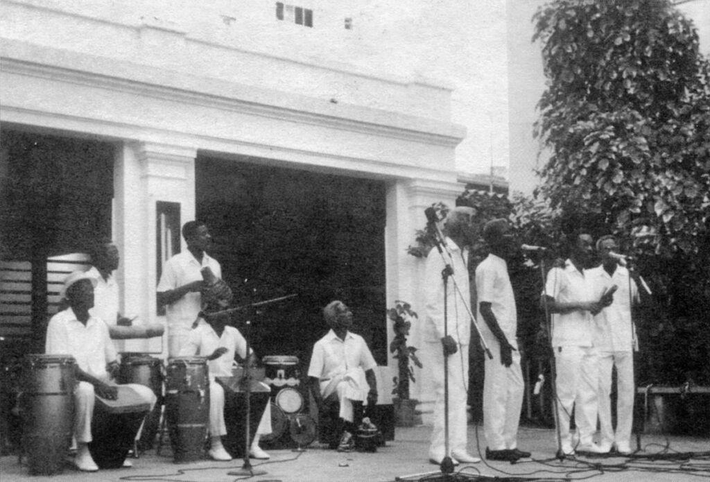 Yoruba Andano, Гавана, 1992. ©Ребека Маулеон