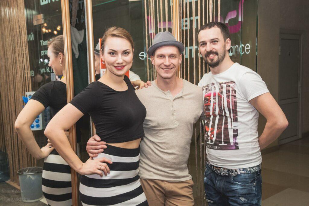 Слева направо: Виктория Агафонова, Санислав Швецов (SDS, Нижний Новгород), Всеволод Богомол. Фото Татьяны Обертюхиной.