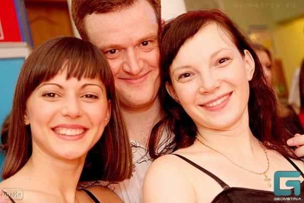 Слева направо: Звягина, Трохин, Вольхина