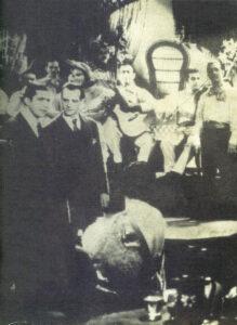 """Карлос Гардель с оркестром Дона Аспиасу в фильме """"Esperame"""", """"Парамаунт филмз де Венесуэла"""", ок. 1930 (из коллекции автора)г."""