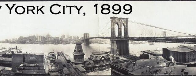 Нью-Йорк. 1899
